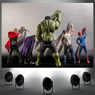 wee marvel funny poster print wall art decor in sizes  A1 A2 A3 A4