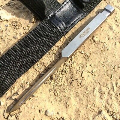"""7"""" Defender Xtreme Triangle Blade Throwing Knife with Sheath"""