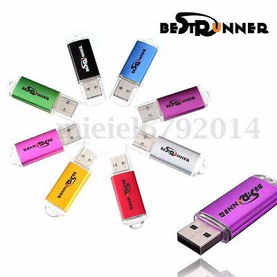 BESTRUNNER 1-10PCS 8 GO GB CLE USB 2.0 Key Mémoire Flash Disk Drive Win 7/10 PC