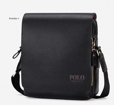 Borsello UOMO Tracolla Polo Videng moda fashion vintage BAG MEN MESSENGER