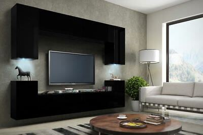 Contemporary Designer Modern Living Room Furniture Wall Mounted Tv Unit Cabinet