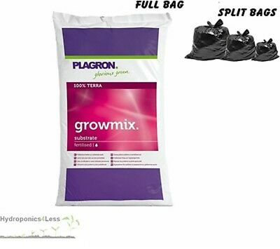 PLAGRON Grow Mix 10,25 or 50L Perlite Organic Terra Soil Compost Hydroponic Grow