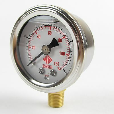 High Quality fuel pressure gauge 1-8 bar for EFI beware of cheap copies!