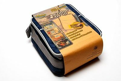 ❤ Fridge To Go Mini Fridge Lunch COOLER BAG 6 Can 8 Hours Cold Cool Kids Baby ❤