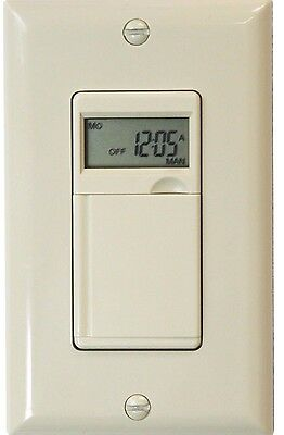 7 day digital programmable timer light switch for fans lights 7 day digital programmable timer switch for fan motors appliances and security aloadofball Images