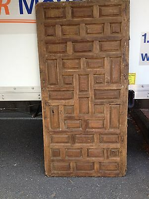 Antique Unique 16-17th cent wood Italian door Wall ART One of a kind Home decor