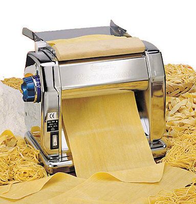 Imperia RMN220 IRestaurants Pasta Dough Rolling Machine Motorized Electric 220V