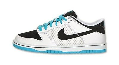 SIZE 7Y YOUTH SHOES BLACK//WHITE 310569 020 NEW GS BOY/'S NIKE DUNK LOW