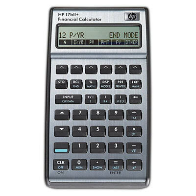 NEW HP 17bII Plus Financial Calculator