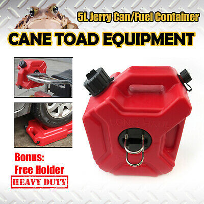 5L Jerry Can Spare Container With Free Holder Fuel Container Heavy Duty