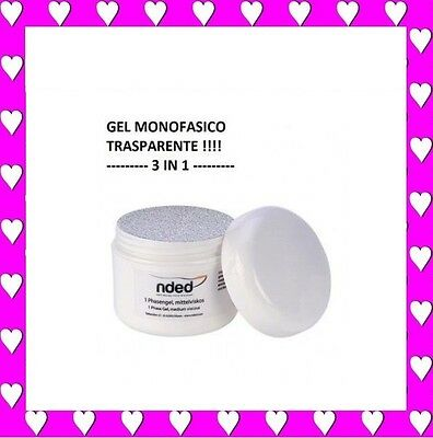 50Ml Xxl Gel Uv Monofase 3 In 1 Monofasico Ricostruzione Unghie Nded Germany
