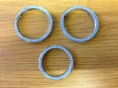 EXHAUST GASKET SET YAMAHA XV 535 VIRAGO  Set of 3 Gaskets