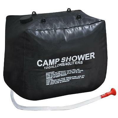 40L Camping Hiking Solar Heated Camp Shower Bag Water Bag For Outdoor Shower
