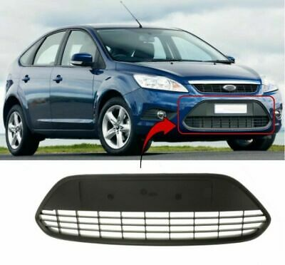 Ford Focus 2008-2011 Front Bumper Centre Grille With Black Frame New