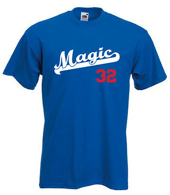 buy online 0a2ae ec2bf LOS ANGELES DODGERS Magic Johnson