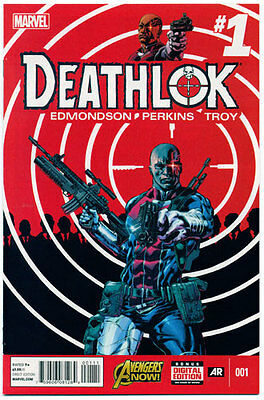 DEATHLOK [2014] #1 - NM Unread Comic Book - New Interpretation!