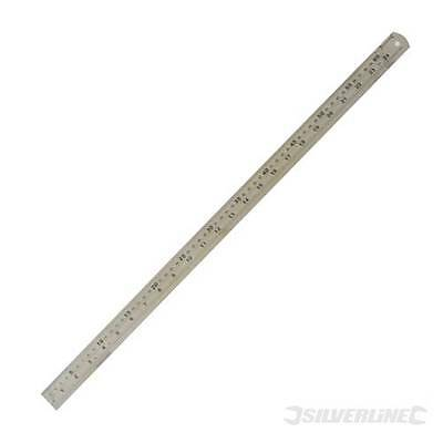 Steel Rule 600mm Precision stainless steel rule. Clear, photo-etched markings