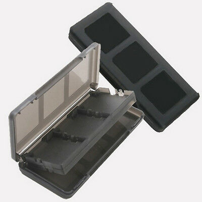 6 in 1 Black Game Case Holder Cartridge Box For Nintendo DS Lite DSi XL LL BF