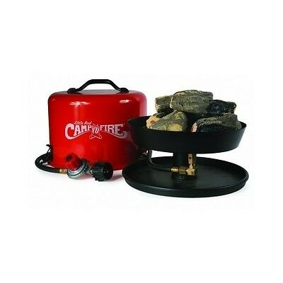 Camco Portable Propane Camp Fire Fireplace Outdoor Patio Camping Hiking Travel