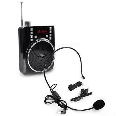Pyle PWMA40BT Portable Bluetooth Radio and PA Speaker System w/ Compact Headset