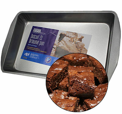 Non Stick Steel Large Rectangle Biscuit Brownie Cake Baking Pan