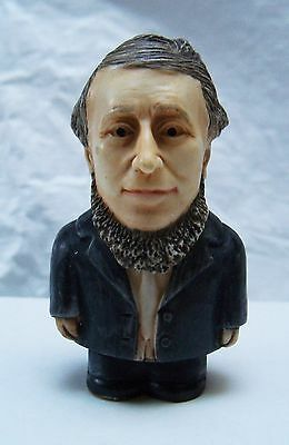 Henry David Thoreau Pot Belly Great Artists Collectible