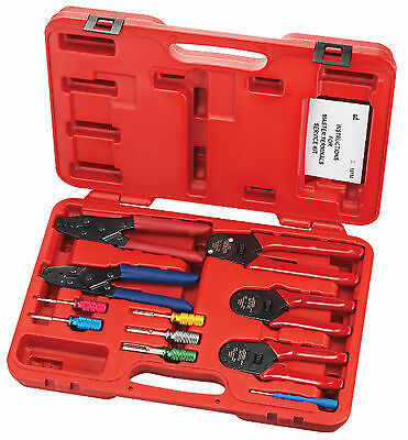 S & G Tool Aid 18700 Master Terminals Service 11 piece crimper set Deutsch ,