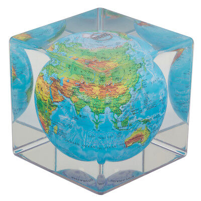 NEW Mova Blue Relief Globe Cube