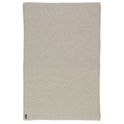 NEW St Albans Knitted Wool Sand Throw Rug