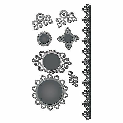 SPELLBINDERS SHAPEABILITIES cutting dies IRONWORK ACCENTS Cuttlebug compatible