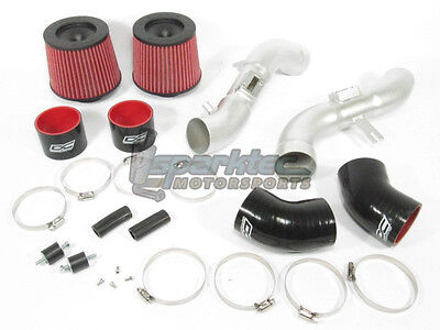 DC Sports SRI4206 Air Intake System Filter Kit Twin Dual Fits 07-08 Nissan 350Z