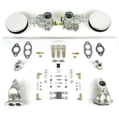Genuine Weber 34 ICT carb kit  jetted for VW T3 dual port 1641-1776  Fastback