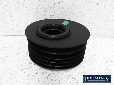 "Waste to Soil Adapter Cap Pipe Reducer 110mm 4/"" to 40mm 43mm 1 1//2/"" Underground"