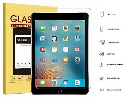 100% Genuine Tempered Glass Screen Protector For Apple iPad Air & Air 2