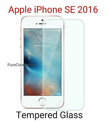 Real HD Temper Glass Tempered glass Screen Protector For Apple iPhone SE 2016