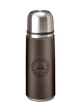 Genuine Mercedes-Benz - Thermos Flask, Brown & Silver B66041494 *NEW*