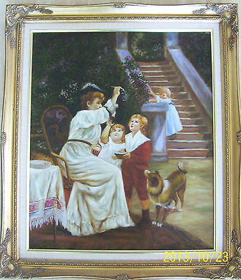 Beautiful Original Oil Painting Signed by Artist