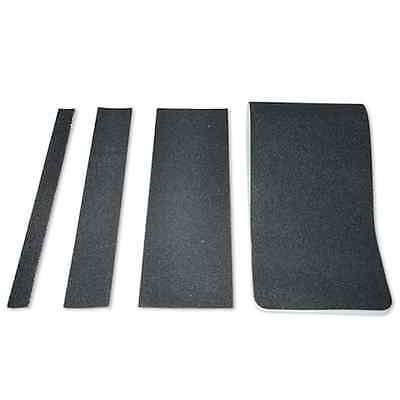 Black Non Slip Stair Treads Safety Anti Skid Tape High Traction: 6 In.