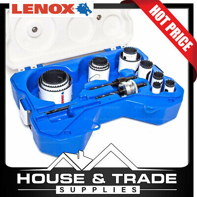 Lenox Tools 15 Piece General Purpose Speed Slot Hole Saw Kit 30874AUS1100G