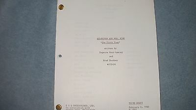 Scarecrow And Mrs King Tv Pilot Script - Kate Jackson - Bruce Boxleitner