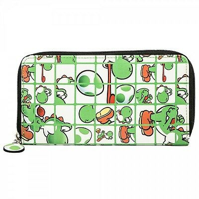 Nintendo Yoshi Zip Around Wallet  - BRAND NEW