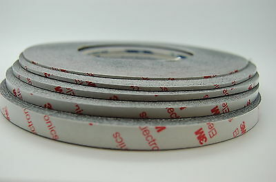 NEW 3M 9448HKB STRONG DOUBLE SIDED TAPE, 1~10MMx50M, MULTIPLE LISTING FOR MOBILE