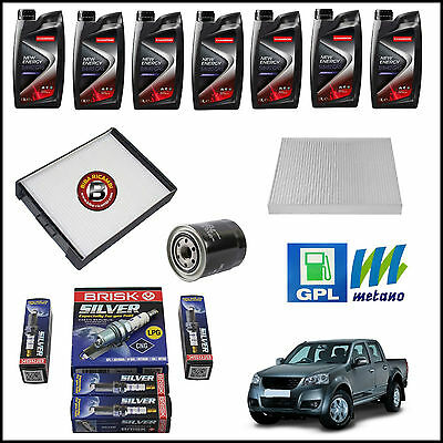 Dd-063 Kit Tagliando Filtri + Olio Great Wall Steed 2.4 Gpl 2009>