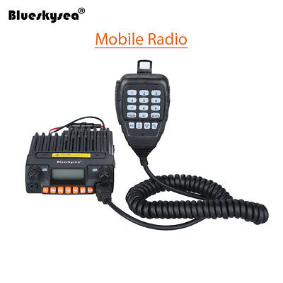 QYT KT-8900R VHF/UHF 25W 200CH FM Monitor Car Mobile Transceiver 2 Ways Radio