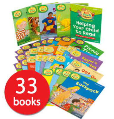 Read with Biff, Chip and Kipper Collection: Levels 1-3 - 33 Books