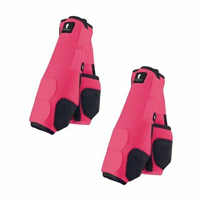 Classic Equine Legacy Boots - Pink- Medium Front & Hind Bundle