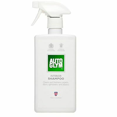 Autoglym Interior Shampoo Valet Cleans Freshens Upholstery Car Boat Truck 500ml