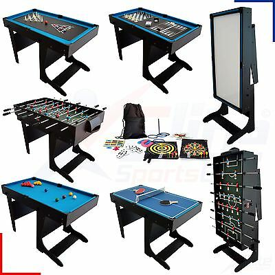 BCE 21 in 1 Multi Games Table - Snooker, Football, Pool, Bowling - Folding