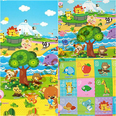 Baby Activity Play Mat Gym Toy Crawl Floor Alphabet Foam Soft Game Child Carpet