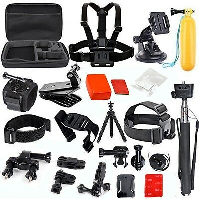 Sports Action Camera Accessories Carrying Case Kit for GoPro 7 6 5 Xiaomi Yi Cam